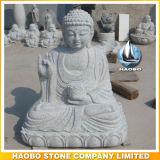 Het Beeldhouwwerk van Boedha van het Standbeeld van de Yam van Gwun van de steen