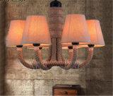 Phine Dekoration-hängende Lampen-Innenbeleuchtung mit Gewebe-Farbton
