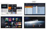Ott/IPTV 서버 Ipremium 텔레비젼 Online+ 수신기 추가를 위한 특별히 디자인