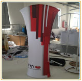 Tension Fabric Display Floor Banner Stand