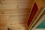 Sauna ao ar livre do quarto da sauna do infravermelho 2016 distante para 2 povos (SEK-F2)