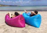 Hamaca inflable del color de rosa inflable del sofá del bolso de la endecha inflable para la venta al por mayor