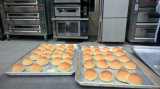 Cocina comercial restaurante Pan Gas hornada de la torta del horno