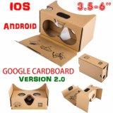 Virtual reality de Vr 3D Glasses pour Phone Google Cardboard