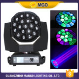 LED Moving Head 19X15W Bee Eye RGBW Light