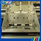 trazador de gráficos ancho del solvente de Eco del formato de la bandera de la cabeza de impresora Dx7 de los 3.2m
