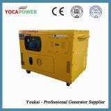 8kw小さいディーゼル機関力の電気発電機の発電のポータブルの発電機
