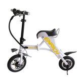 Bianco/nero che piega motorino elettrico pieghevole della bici elettrica il mini