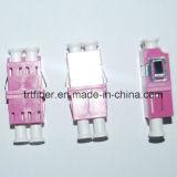 De purpere Om4 Duplex Optische Adapter van de Vezel LC
