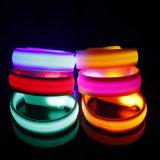Multi bracciale corrente infiammante di guida LED di sicurezza di prezzi di fabbrica di colore