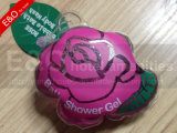 HotelのためのPVC Bagの50ml Lovely Cartoon Sachet Shampoo Cosmetic