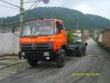 15 톤 두 배 뒤 축 화물 트럭 (EQ1258GK)