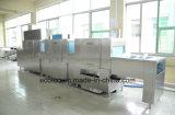 Grande macchina commerciale della lavapiatti nella funzione ultrasonica di immersione