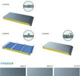 Panneaux de mur en métal de bâtiment de construction