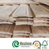 Conseil de bordage décoratif amorcé de pin en bois de bâtis