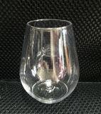 Vidrio de vino sin pie plástico cristalino estupendo
