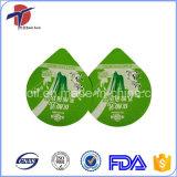 Tapa del papel de aluminio de la prueba húmeda para el acondicionamiento de los alimentos