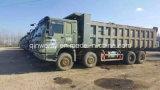Max-18cbm-40ton Full-Stock HOWO Camion lourd usagé avec moteur Steyr original