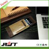 Caixa de couro do telemóvel do plutônio da aleta Multifunction para o iPhone 6