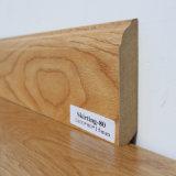 フロアーリングのための幅木の使用