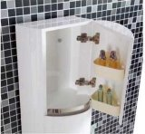 PVC moderno Bathroom Vanity di Wall Mounted con il LED Mirror