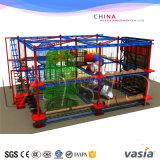 Парк курса веревочки детей крытый для крытого оборудования парка атракционов спортивной площадки