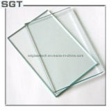 磨かれた端が付いている5mm-12mmの緩和されたガラスのゆとりのフロートガラス