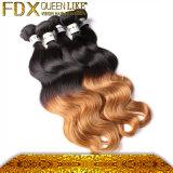 형식 색깔 Malaysian Remy 머리 바디 파 Ombre 머리 뭉치
