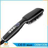 Escova elétrica do Straightener do cabelo do aquecimento rápido novo do LCD da alta qualidade do estilo