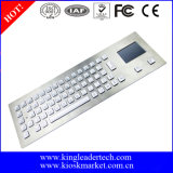 Top Mount를 위한 Touchpad를 가진 산업 Metal Backlit Keyboard