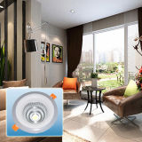 Proyector redondo de la MAZORCA de aluminio delicada Light/LED de la luz doble 7W-19W