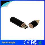 Disco de destello del USB del lápiz de madera al por mayor