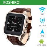 Telefone esperto Android do relógio com relógio de Bleutooth