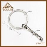 Anello chiave piano 25mm popolare di modo con il commercio all'ingrosso della catena del serpente