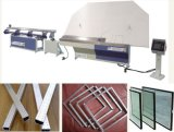 Cadena de producción de cristal de la doble vidriera, máquina del corte del vidrio del CNC para la línea de la doble vidriera