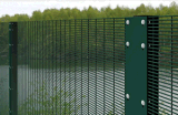 Galvanized Caldo-Dipped Powder Coated High Security 358 Anti-Climb Fence per Prison