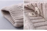 100%のウールは冬のための編むか、または編まれた女の子のセーターを卸し売りする