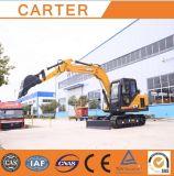최신 Sales CT85-8b (8.5t) Multifunction Crawler Backhoe Excavator
