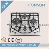 Fogão de gás do fogão de gás da tabela do dispositivo de cozinha do agregado familiar