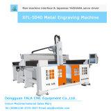 Маршрутизатор CNC гравировального станка металла Xfl-5040 высекая машину