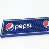 Estera de goma modificada para requisitos particulares insignia de la barra del PVC de la taza de la marca de fábrica