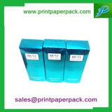 Коробка полного цвета напечатанная, польностью UV косметическая упаковывая коробка мешка