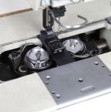 Semi da barra rachada dobro da agulha da agulha do petróleo máquina de costura de Lockstich com gancho padrão Fit8450