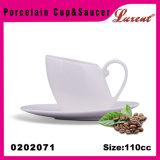 Dos mercadorias retangulares da tabela de cozinha da faiança caneca clássica do Cappuccino