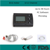 Siècle compatible cardiaque 3000-Maggie de Cardioscan de SGD de Del certifié par ce mars de logiciel d'analyse de Holter de système d'enregistrement de moniteur d'ECG Holter