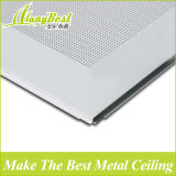 L'alluminio acustico di vendita calda 2017 risiede nelle mattonelle del soffitto con la griglia visibile di T