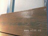 ファイバーのセメントのボード--Deepwondの木製の穀物の側面パネル