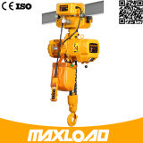 Maquinaria da eficiência elevada grua Chain elétrica da corrente do dobro de 0.5 toneladas