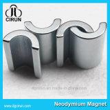 アークの形の強い希土類ネオジムモーター磁石