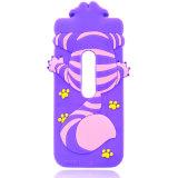 caja del teléfono del silicón de la historieta del tigre 3D para el iPhone 6 6plus 7 7plus J5 J7 J710 J510 (XSD-030)